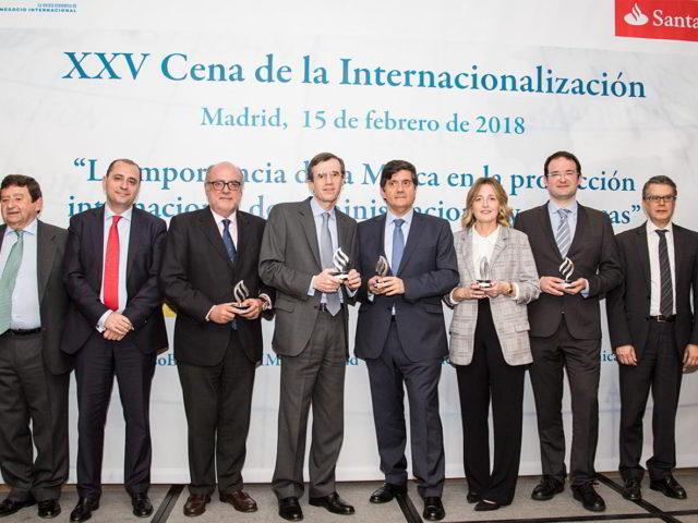 XXV Cena de la Internacionalización