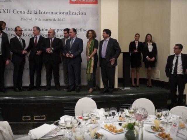 XXII Cena de la Internacionalización