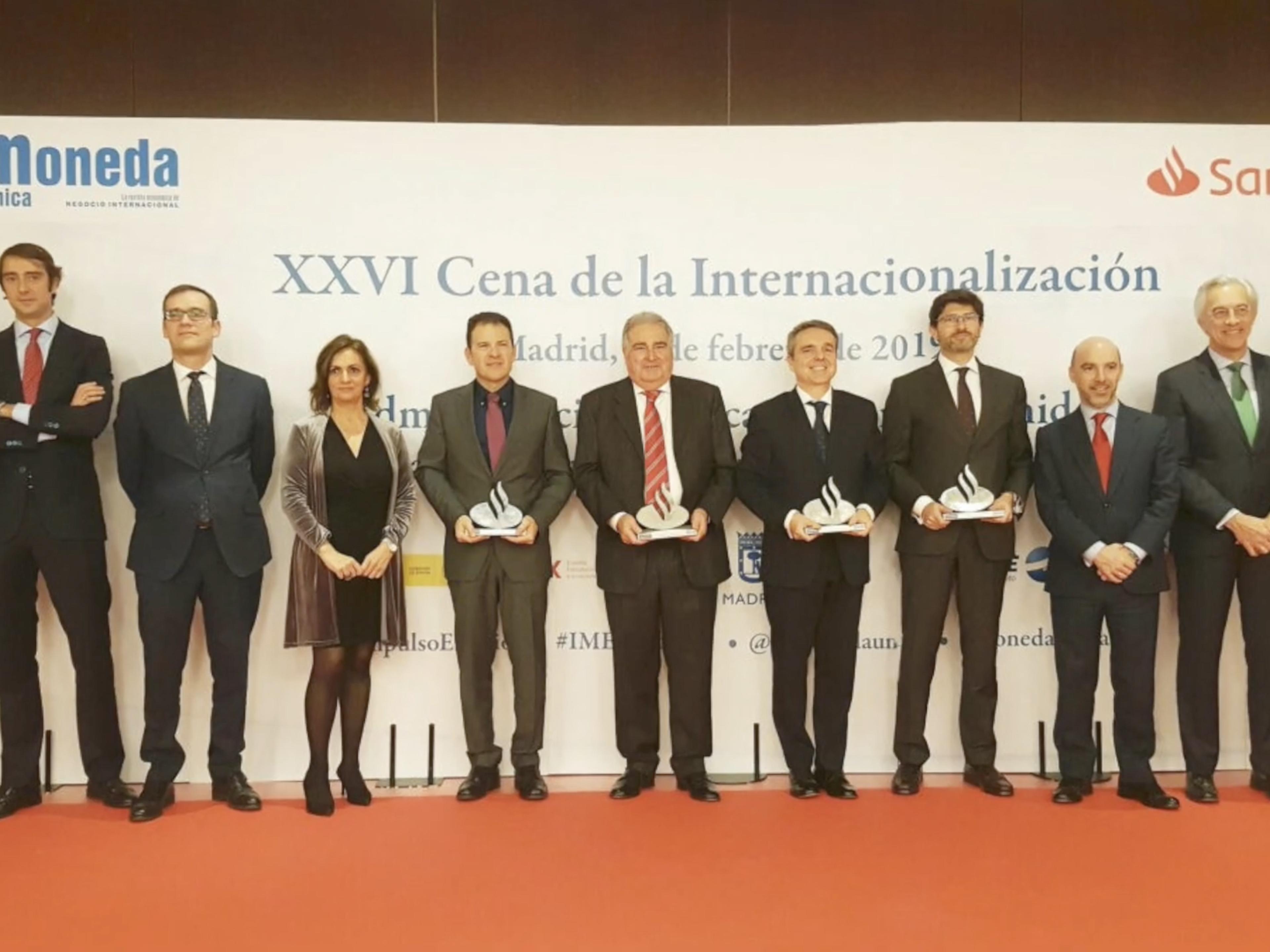 XXVI Cena de la Internacionalización
