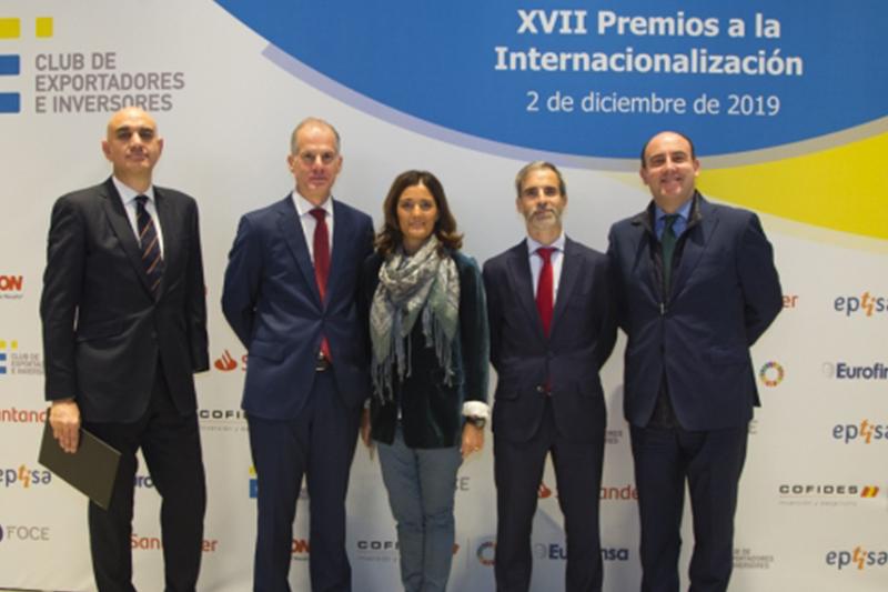 El Club de Exportadores entrega sus premios anuales instando al Gobierno a que acometa reformas estructurales para dinamizar la competitividad internacional de las empresas