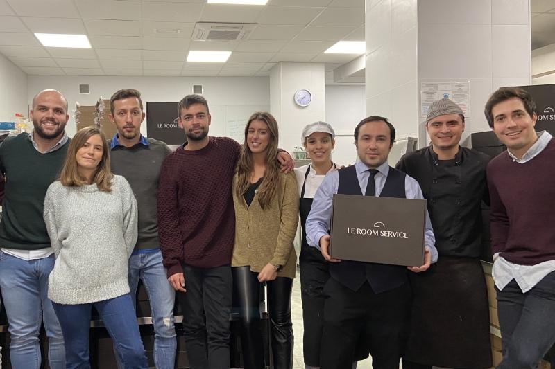 BStartup invierte en la startup Le Room Service