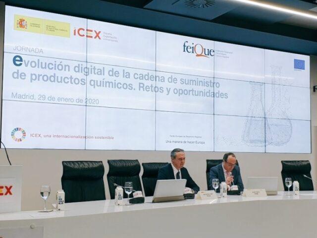 ICEX y Feique analizan la digitalización en la cadena de suministro de productos químicos