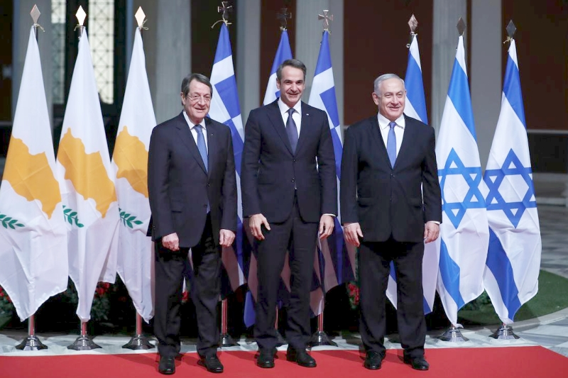 Israel, Chipre y Grecia aspiran a construir el gasoducto EastMed