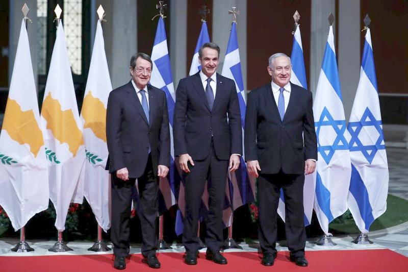 Israel, Chipre y Grecia aspiran a construir el gasoducto EastMed