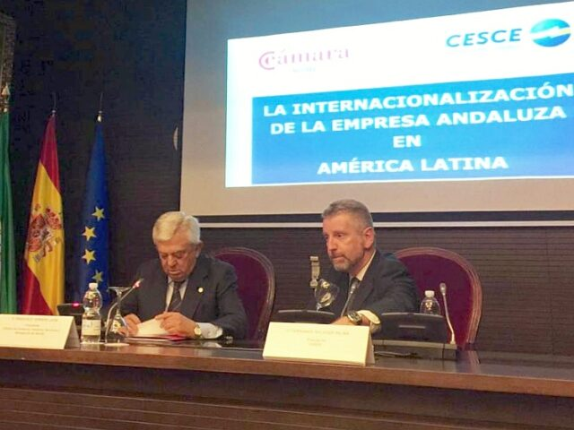 CESCE participa en un seminario sobre internacionalización de la empresa andaluza en Latinoamérica