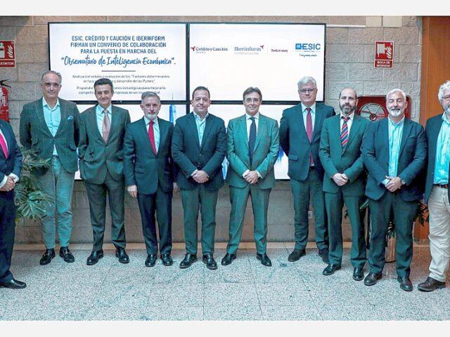 Crédito y Caución, Iberinform y ESIC ponen en marcha el Observatorio de Inteligencia Económica