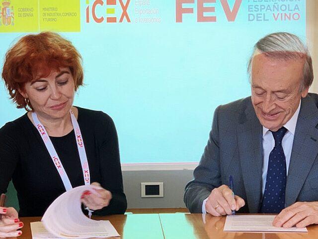 ICEX y FEV se unen para potenciar el vino español en el exterior