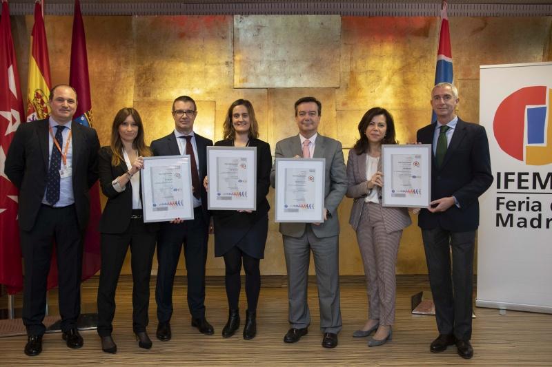 IFEMA eleva fuertemente sus estándares de Calidad, Medioambientales y de Sostenibilidad