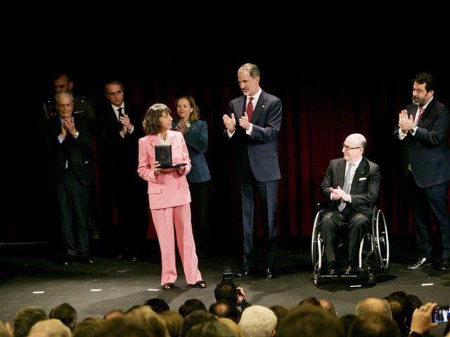 Plácido Arango recibe el V Premio Reino de España a la Trayectoria Empresarial «in memoriam»