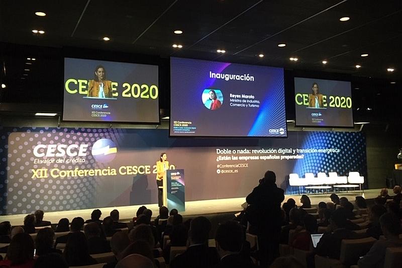 Revolución digital y transición energética, a debate en la XII Conferencia CESCE 2020