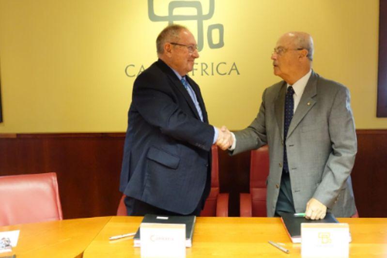 Casa África y Cámara de España firman Convenio