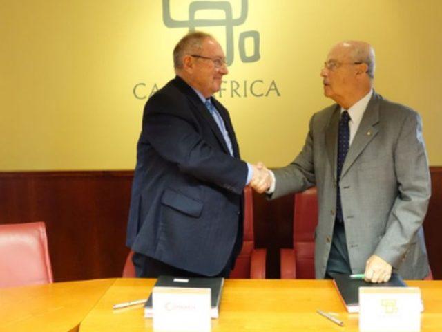 Casa África y la Cámara de Comercio de España firman un convenio para acercar las pymes españolas a África