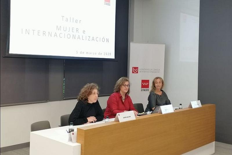 La Comunidad de Madrid y la Cámara de Comercio de Madrid a través de la VUI muestran las herramientas para la internacionalización a las empresarias madrileñas