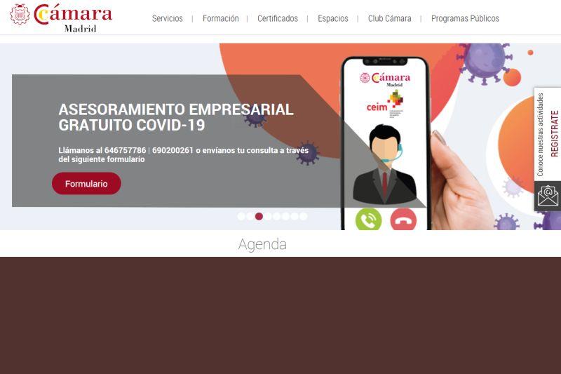Cámara de Madrid asesora a empresarios