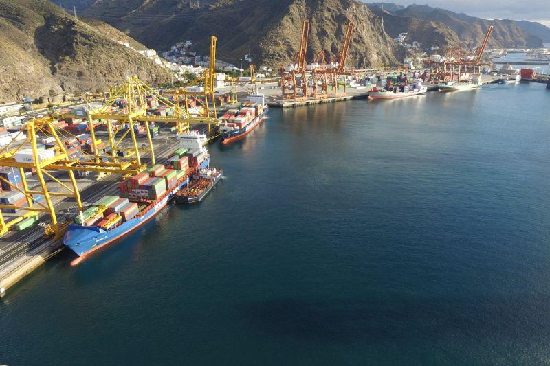 Puerto Tenerife.Tráfico Portuario