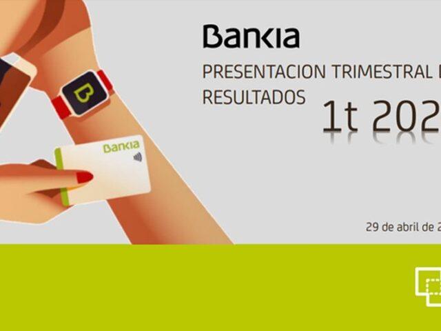 Bankia obtiene un beneficio de 94 millones hasta marzo