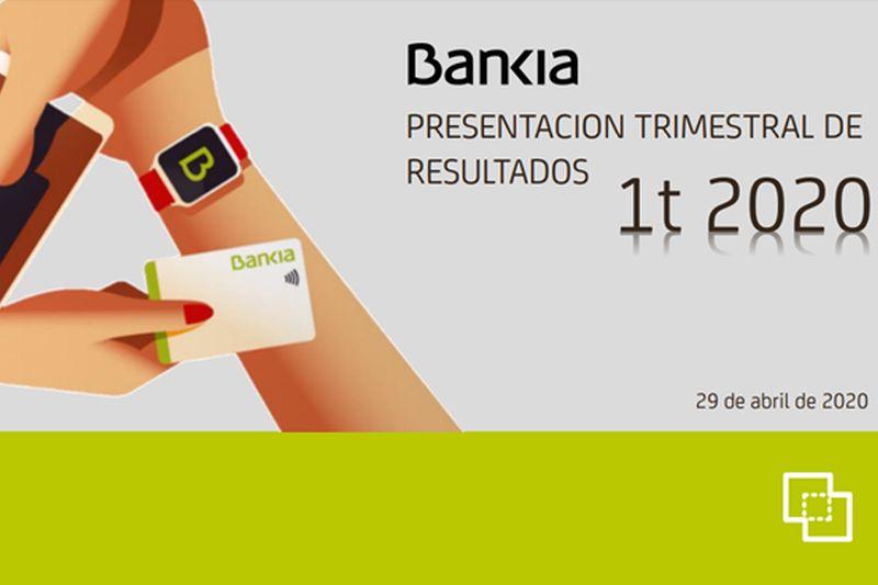 Resultados de Bankia 1T 2020