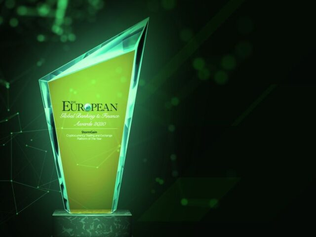"""StormGain nombrada """"Plataforma de Trading y Exchange del Año"""" por The European"""