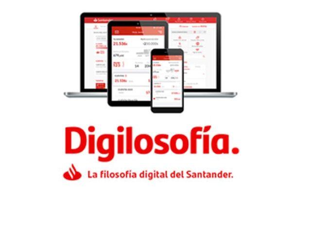 La Digilosofía del Santander hoy todavía más útil