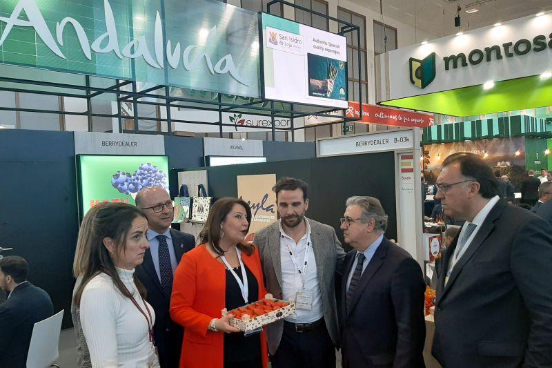 Las exportaciones agroalimentarias andaluzas crecen un 2,3% en el primer trimestre