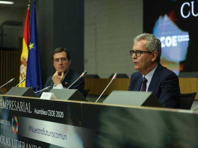 CEOE presenta las conclusiones de la Cumbre Empresarial
