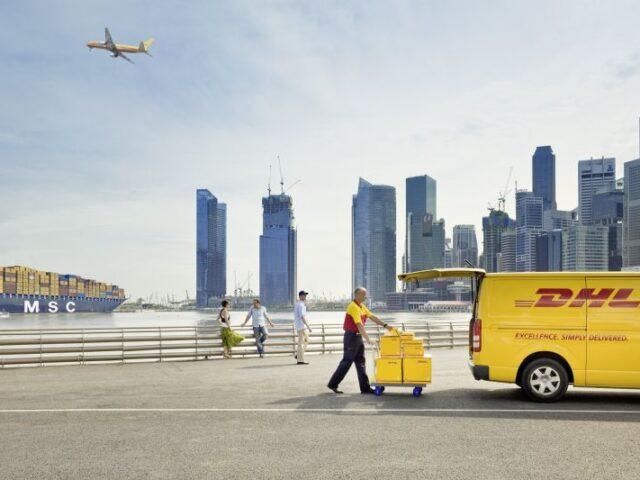 El operador de logística internacional DHL, líder en su sector según  Gartner