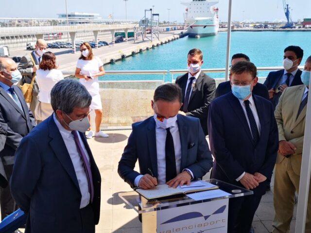 Alemania aumentará la logística internacional con los puertos españoles