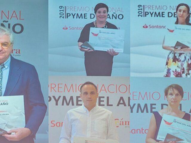 Santander y Cámara de España entregan el Premio Pyme del Año 2019