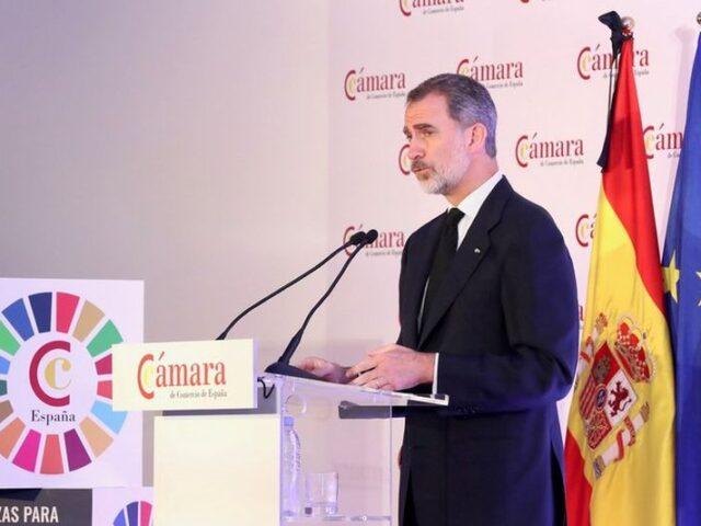 """S.M. el Rey: """"Juntos y entre todos debemos ser capaces de reactivar la economía con toda la fuerza, solidaridad y solvencia de lo que los españoles son capaces y se merecen"""""""