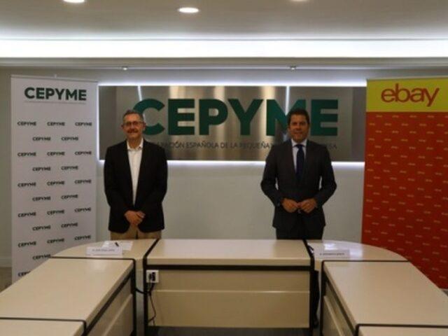 eBay y CEPYME firman un acuerdo para impulsar el comercio electrónico y las exportaciones de las pymes españolas