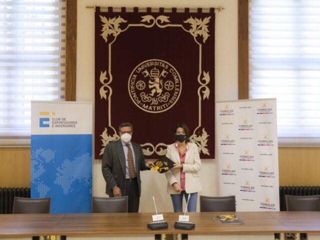 El Club de Exportadores y la Universidad Pontificia Comillas se unen para incentivar la internacionalización de la empresa española