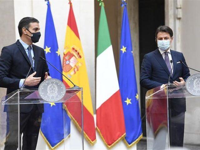 España e Italia unidos en su estrategia ante Europa
