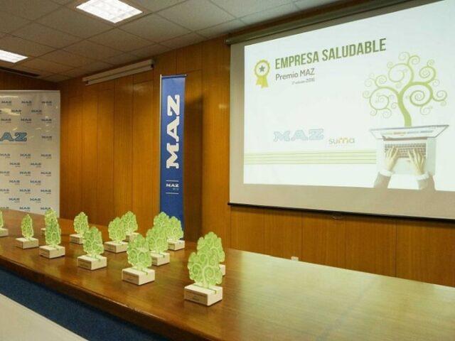 Once empresas reconocidas con los Premios MAZ Empresa Saludable