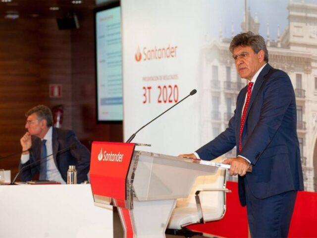 Santander obtiene un beneficio de 3.658 millones en los primeros nueve meses