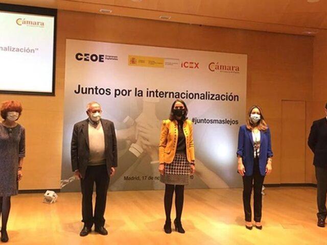 #JuntosMasLejos para el apoyo a la internacionalización