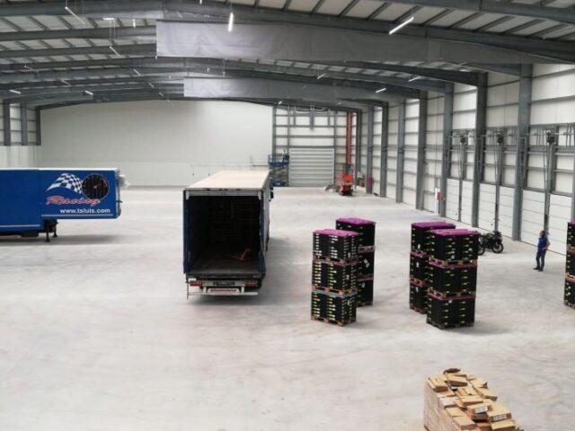 Ampliación de instalaciones logísticas en Portugal
