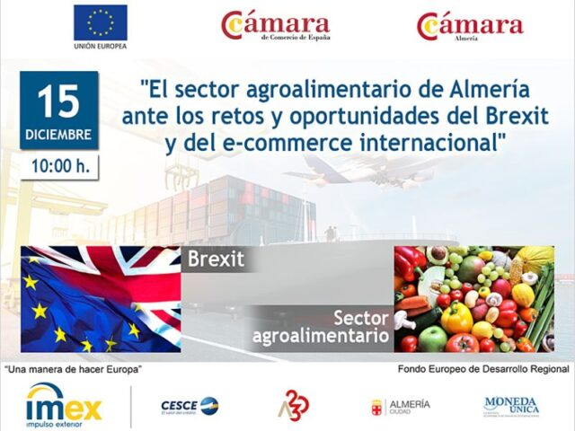 ecommerce internacional y Brexit en la Jornada IMEX-Almería