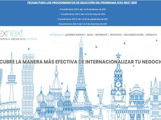 ICEX Next destina 9 millones de € a la internacionalización de las pymes