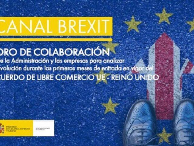 Canal Brexit, un foro de colaboración entre Administración y empresas