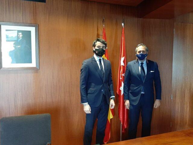 La Cámara de Comercio de Madrid y el Gobierno regional potencian la internacionalización de las empresas madrileñas