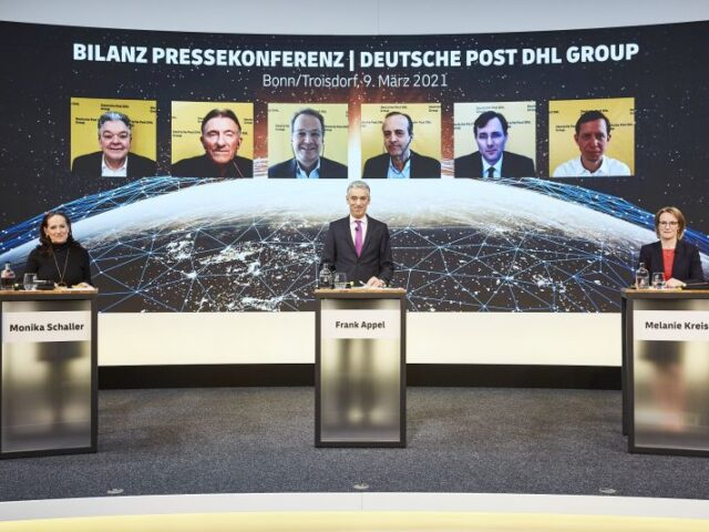 Deutsche Post DHL obtuvo récord de ventas en 2020 gracias al e-Commerce