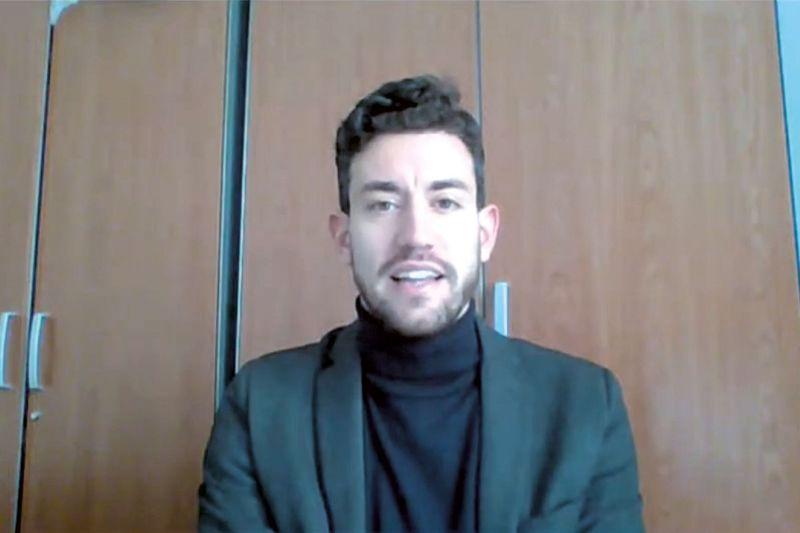 Simone Ferrali, responsable del Desk Italia de la Cámara de Comercio e Industria Italiana para España.