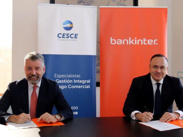 CESCE y Bankinter apoyan a las empresas exportadoras