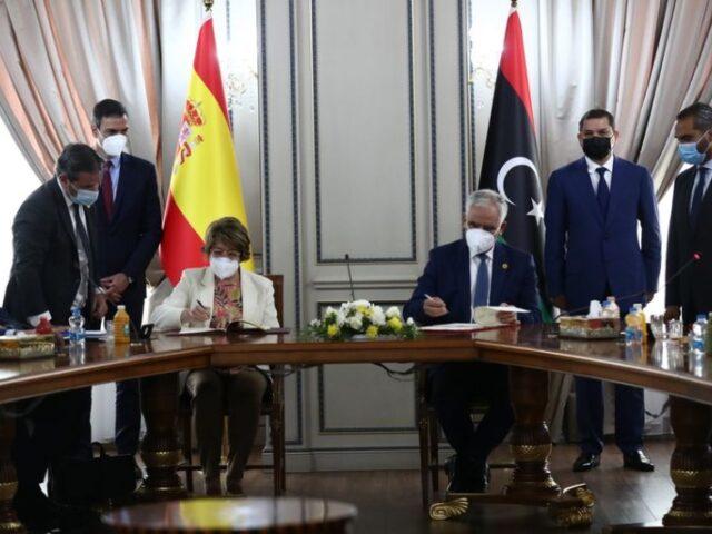 Cámara de España suscribe un Memorando de Entendimiento con Libia