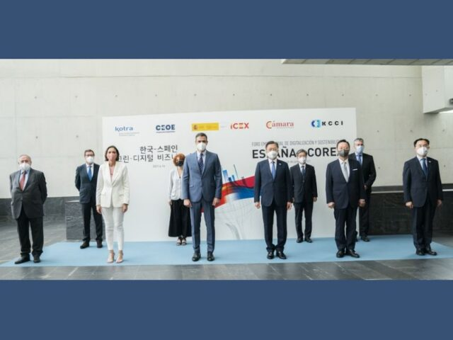 Es el momento de abrir un futuro de oportunidades entre Corea y España