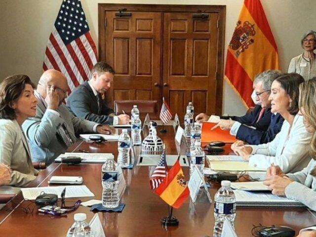 España y EE.UU. trabajarán conjuntamente para impulsar las relaciones comerciales transatlánticas