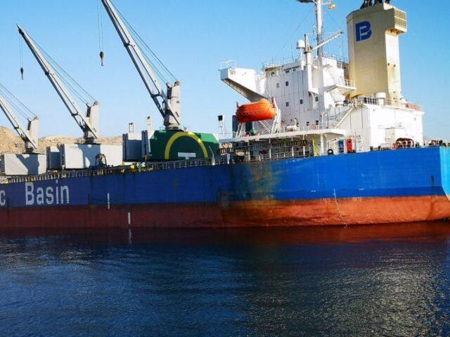 Los puertos de Almería y Carboneras continúan con el aumento de exportación de mercancías